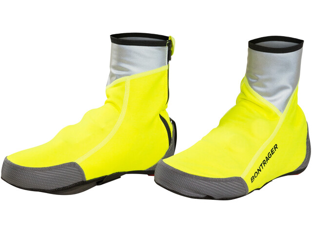 Bontrager Halo S1 Softshell Shoe Cover Unisex Visibility Yellow